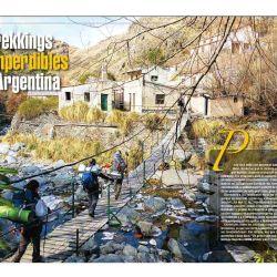 12 trekkings espectaculares para mover las piernas y de paso disfrutar de los mejores paisajes.