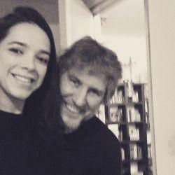 Mónica García de la Fuente con Amado Boudou | Foto:Cedoc