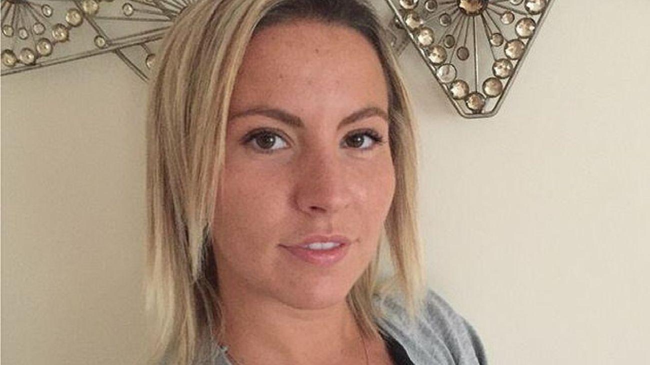 Kandice Barber, maestra de 35 años oriunda de Wendover, Reino Unido.