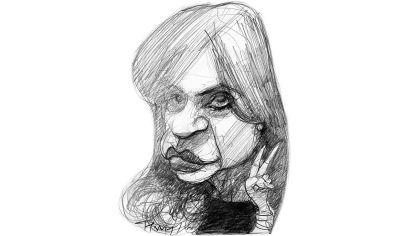 'V', Cristina Fernández.