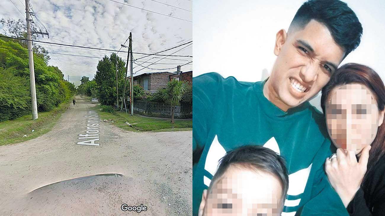 Joel. Tenía 25 años, una mujer y un hijo de 5. Lo mataron a tiros para robarle el teléfono celular.