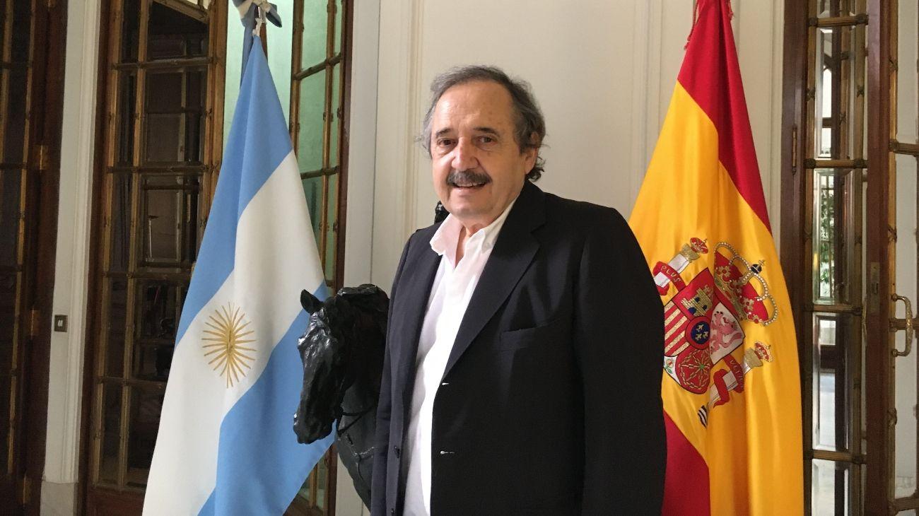 El embajador en España, Ricardo Alfonsín.
