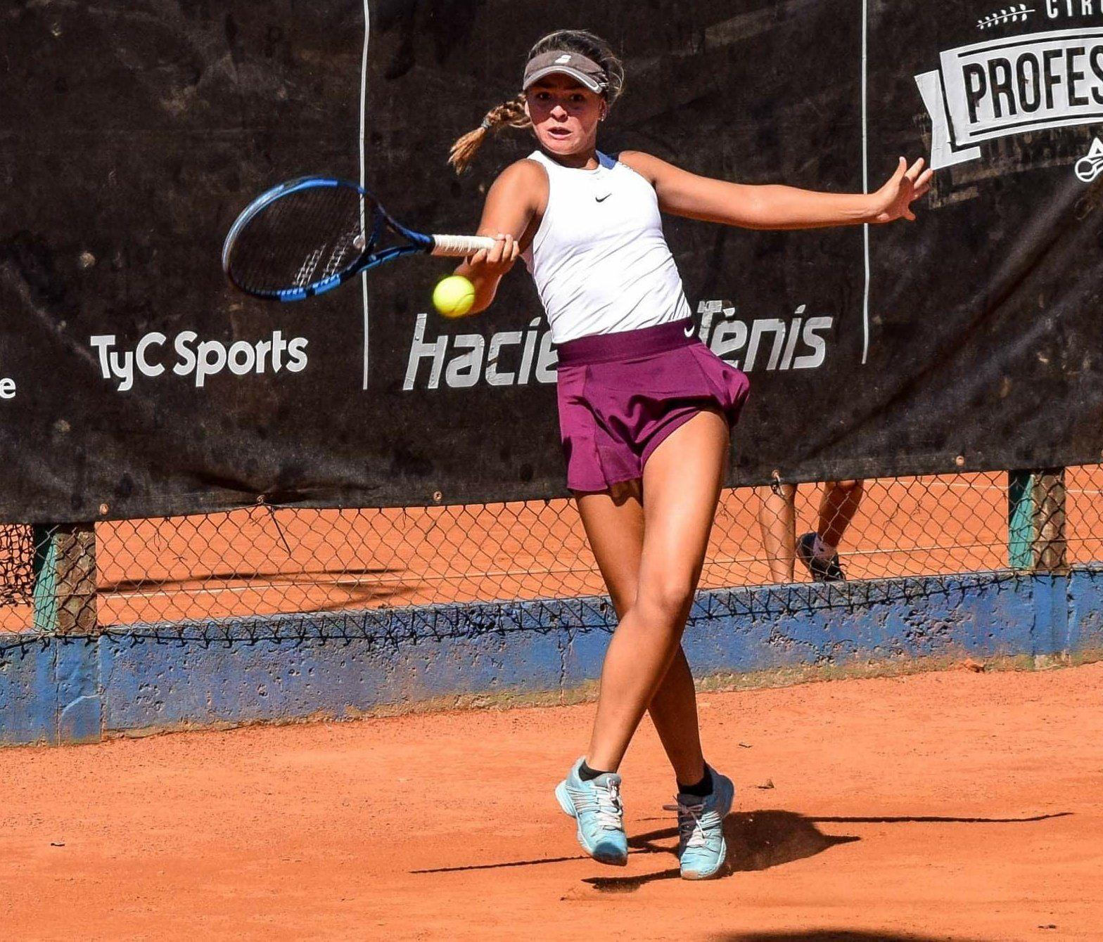 La número tres. Moyano está en el podio de las mejores Junior de Argentina y le apunta a los Grand Slams de la categoría.