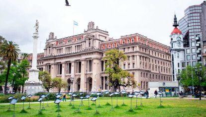Palacio. Los empleados judiciales, a través del sindicato que comanda Julio Piumato, reclamaron ser incluidos dentro del plan de vacunación con prioridad.