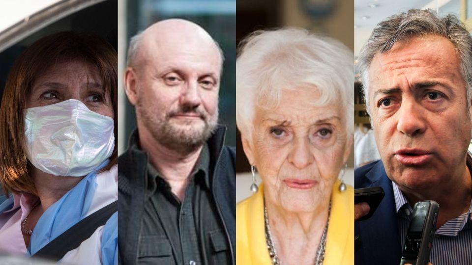 Patricia Bullrich, Juan José Campanella, Fernández Meijide y Cornejo, algunos de los firmantes de la solicitada contra el Gobierno y Formosa.