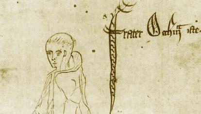 Una imagen de su época que ilustra la idea formulada por Guillermo de Ockham.