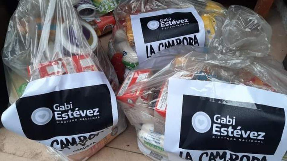 31_01_21_Cedoc_Pefil_Bolsas de comida de La Cámpora