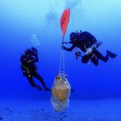 El hallazgo se produjo en las profundidades de las aguas de la isla de Kasos, Grecia.