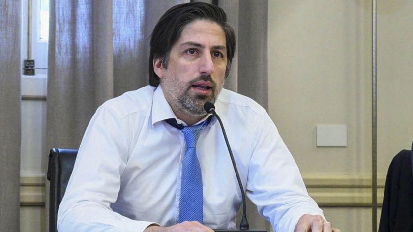 Ministro de Educación, Nicolás Trotta.