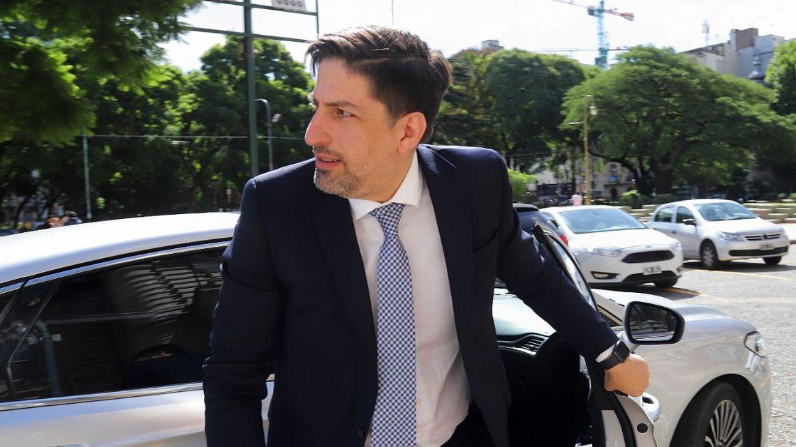 Education Minister Nicolás Trotta.