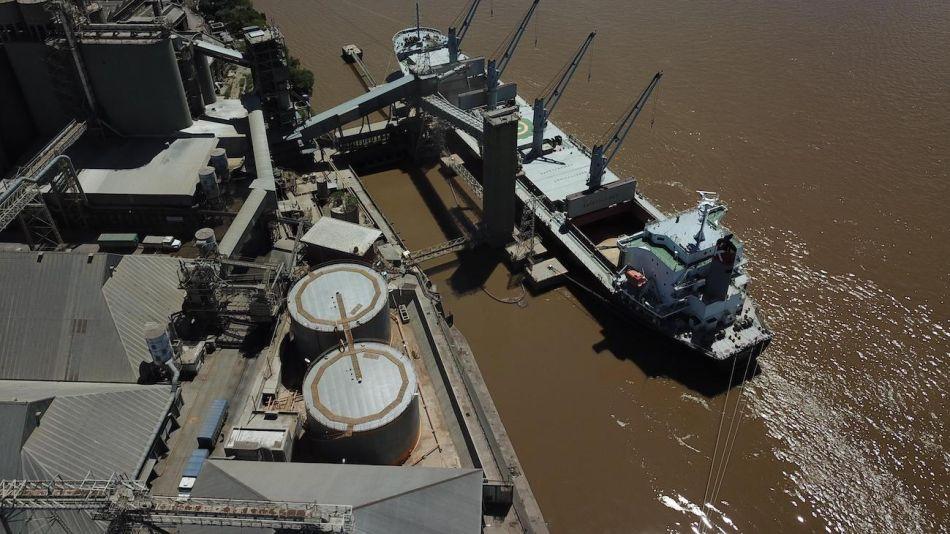 Puerto Rosario, exportaciones
