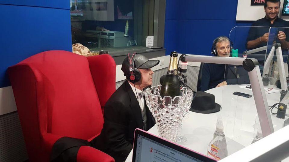 Norberto Oyarbide en la radio