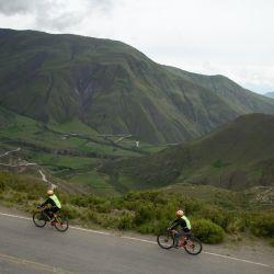 Mountain bike en la Cuesta del Obispo (foto Osvando Orlandi).