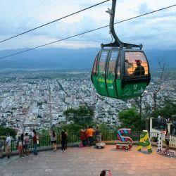 Cerro San Bernardo en Salta capital (foto Osvaldo Orlandi).
