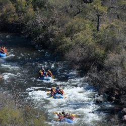 Rafting en Salta.