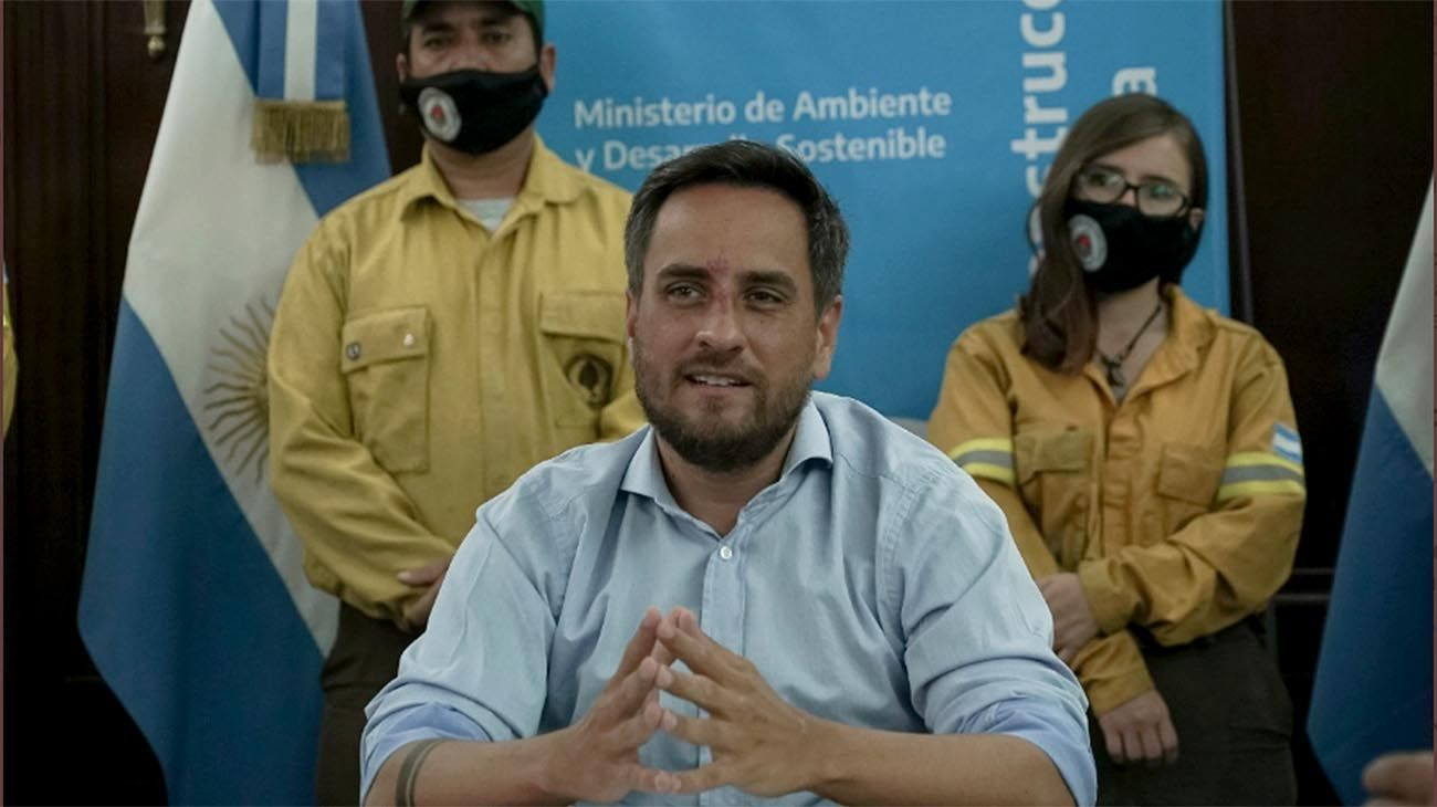 Juan Cabandié, ministro de Medio Ambiente