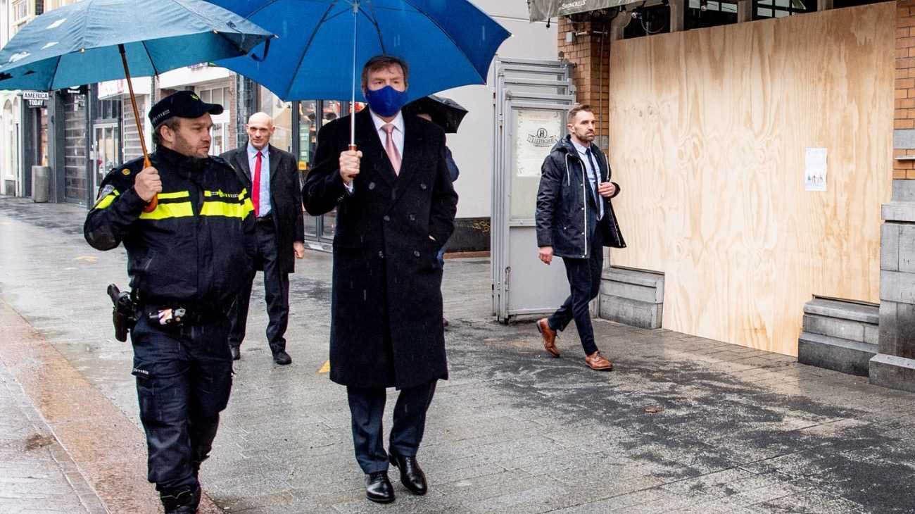 Reyes Holanda disturbios