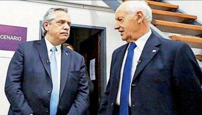 Alberto Fernández y Roberto Lavagna