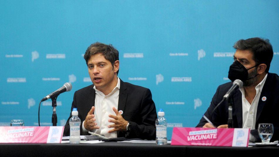 Axel Kicillof, gobernador bonaerense.
