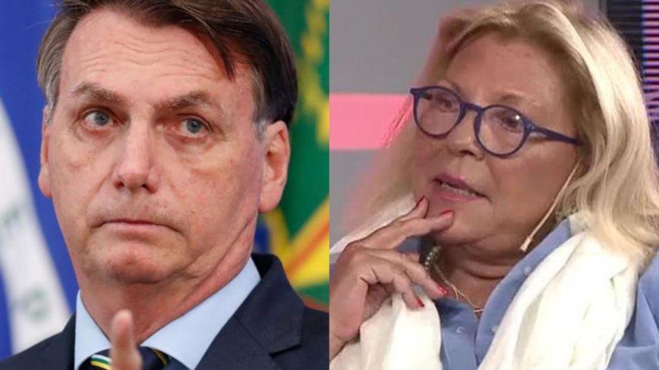 Bolsonaro y  Carrió.20210202