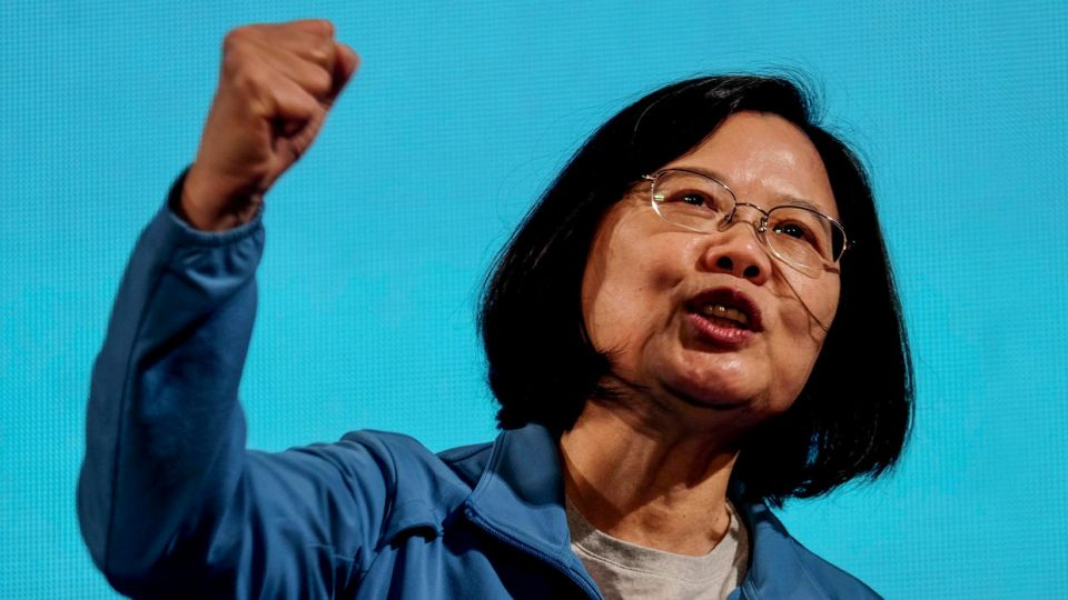 La presidenta taiwanesa, Tsai Ing-wen, vive un momento de popularidad por su manejo de la pandemia.