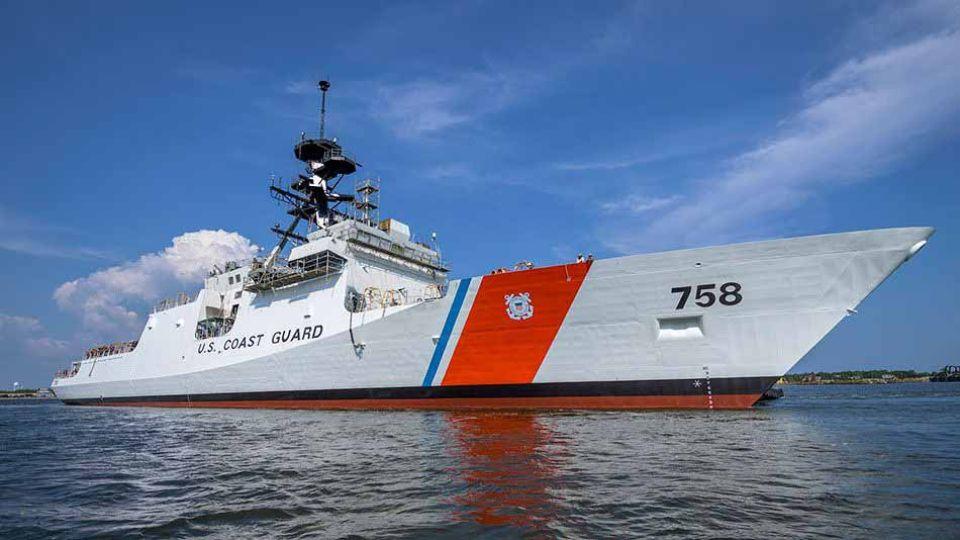 USCG Cutter Stone, el buque de última generación de la Marina estadounidense.