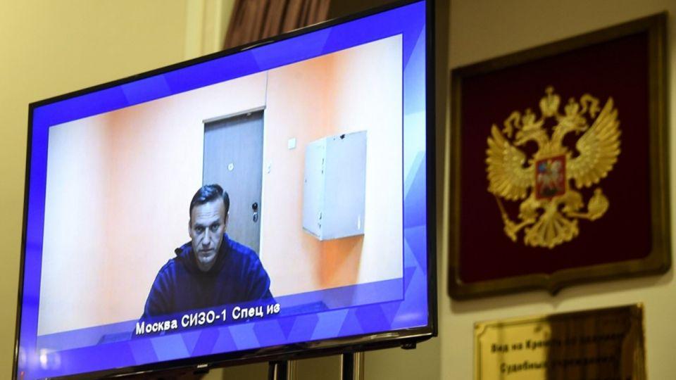 """Alexei Navalni, integrante del partido opositor """"Rusia del Futuro"""""""