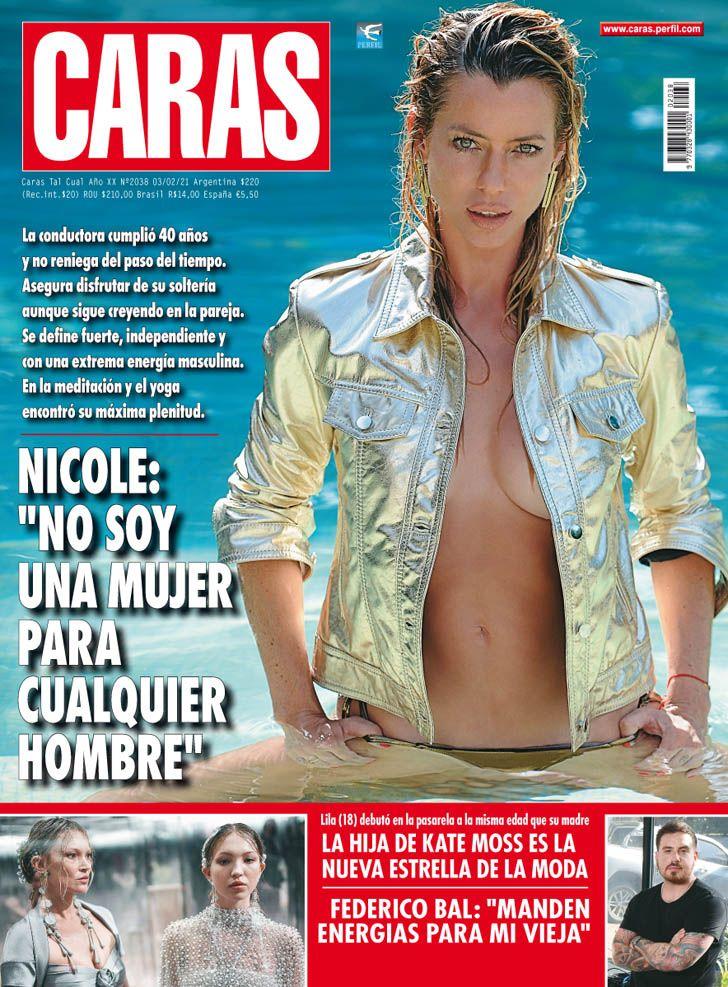"""Nicole Neumann: """"NO SOY UNA  MUJER PARA  CUALQUIER  HOMBRE"""""""