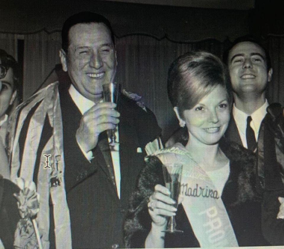 Isabelita y Perón al llegar de España