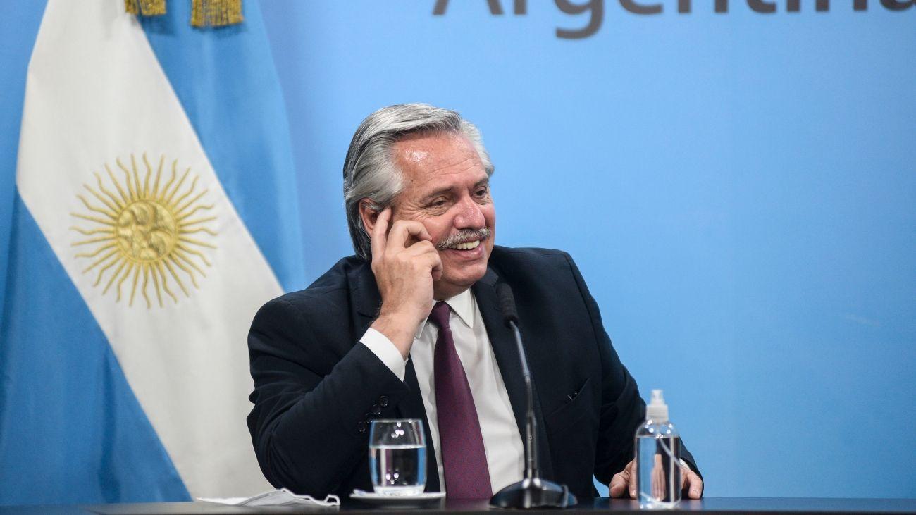 Archivo. Alberto Fernández respaldó nuevamente al ecuatoriano Arauz Galarza.