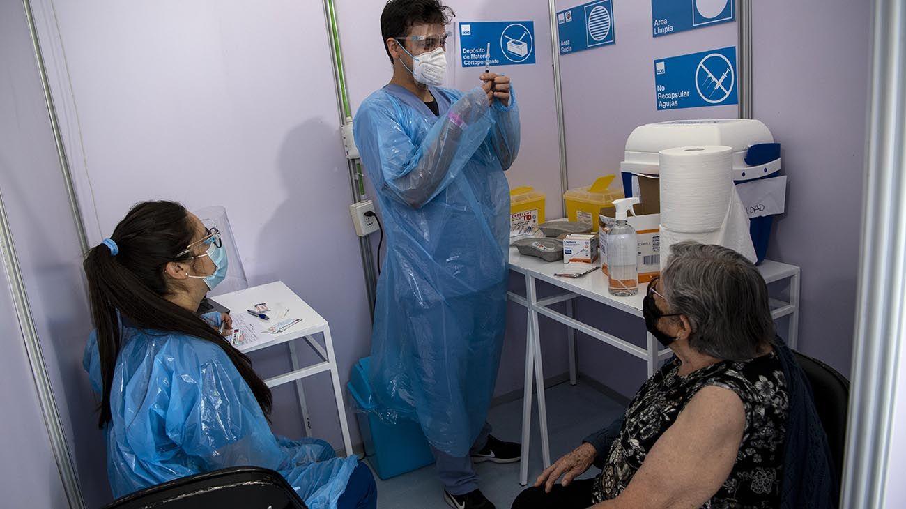 campaña de vacunación en Chile