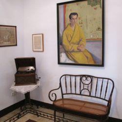 Interior de la Huerta de San Vicente, la residencia de verano de la familia de Federico García Lorca en Granada. Foto: Andreas Drouve/dpa - ATENCIÓN: Sólo para uso editorial con el texto adjunto