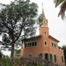 La Casa-Museu Gaudí en el Parque Güell, en Barcelona, donde residió el célebre arquitecto catalán. Foto: Andrea Warnecke/dpa