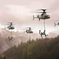 El Defiant X forma parte del programa Future Long Range Assault Aircraft (FLRAA) del Ejército de Estados Unidos, donde también compite Bell V-280 Valor.