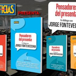 Pensadores del presente, en diálogo con Jorge Fontevecchia | Foto:cedoc