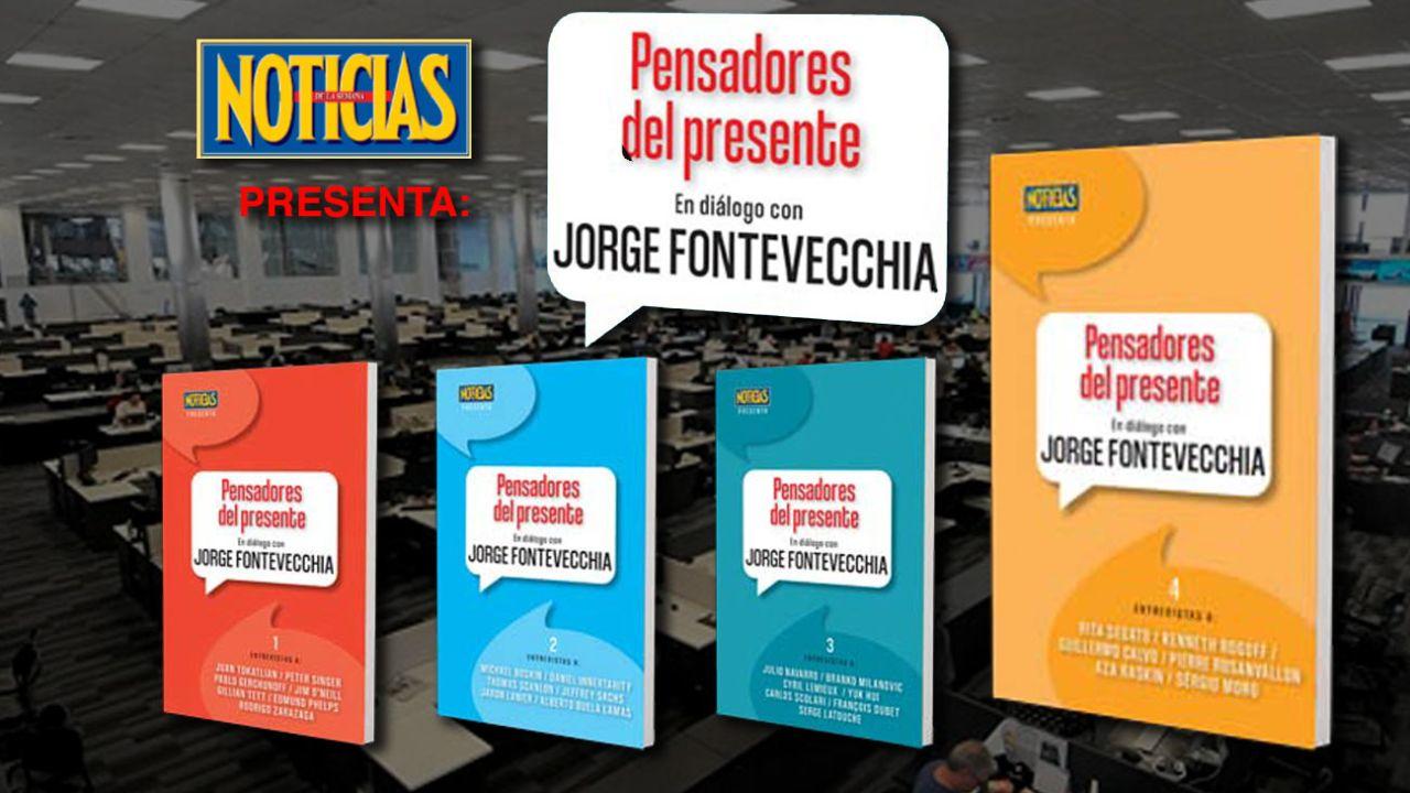 Pensadores del presente, en diálogo con Jorge Fontevecchia   Foto:cedoc
