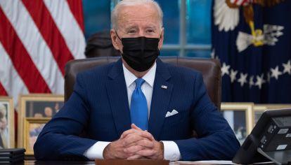Joe Biden hizo su campaña en pandemia. Varios países atravesaron la misma situación (Archivo)
