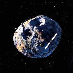La nave para la misión fue bautizada como Psyche, en referencia al asteroide, y ha sido diseñada por la propia NASA.
