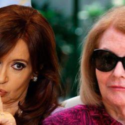 Cristina Kirchner - Isabel Perón   Foto:Montaje