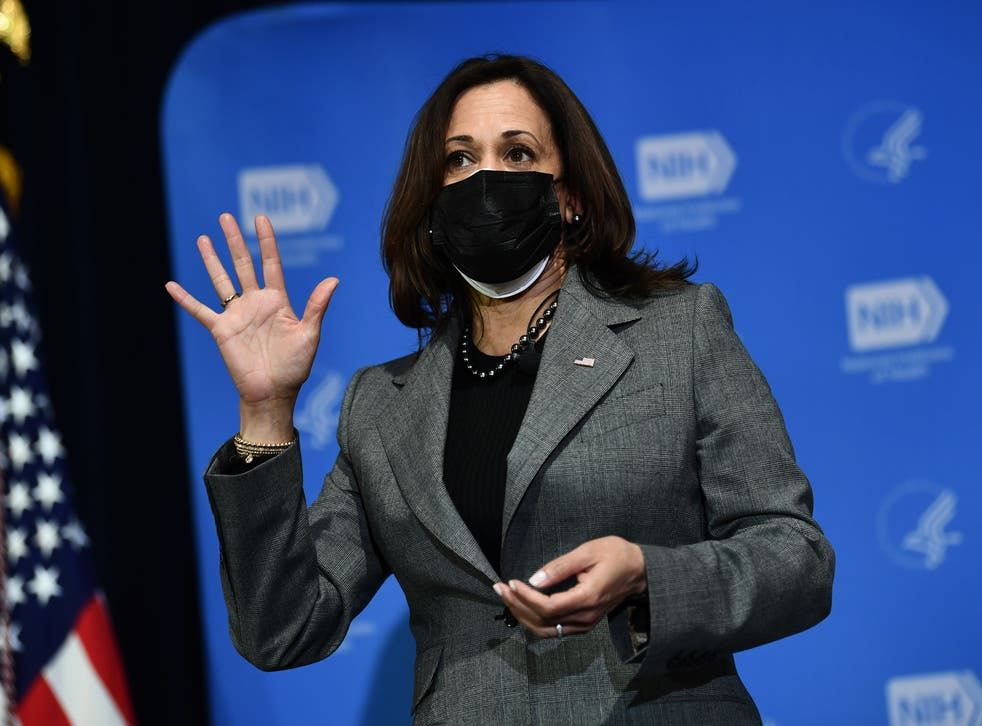Kamala Harris vicepresidenta de EEUU