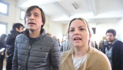Carolina Píparo y Juan Ignacio Buzali