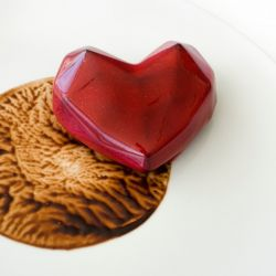 San Valentín hecho postre.