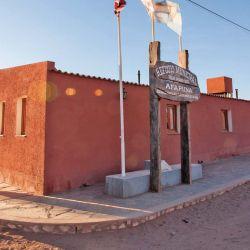 El refugio municipal de Tolar Grande es el hogar para viajeros y montañistas.