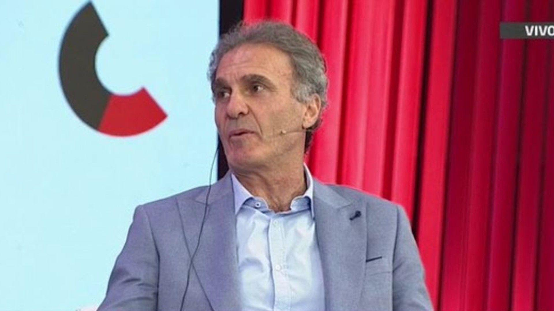 Oscar Ruggeri contó su mala experiencia en Boca.