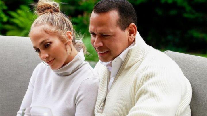 Jennifer Lopez le puso los puntos a su prometido, Alex Rodríguez
