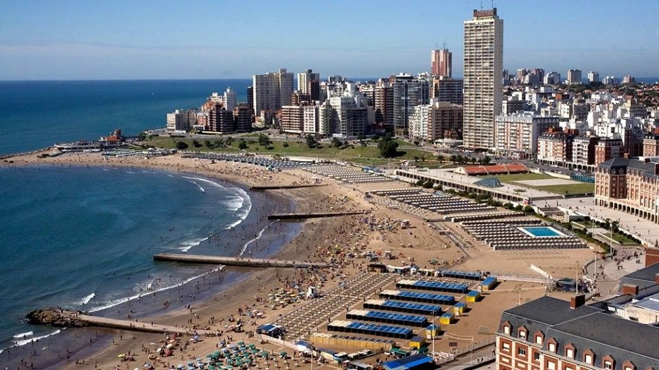 Mar del Plata es la principal ciudad preferida por los argentinos para las vacaciones en este 2021.