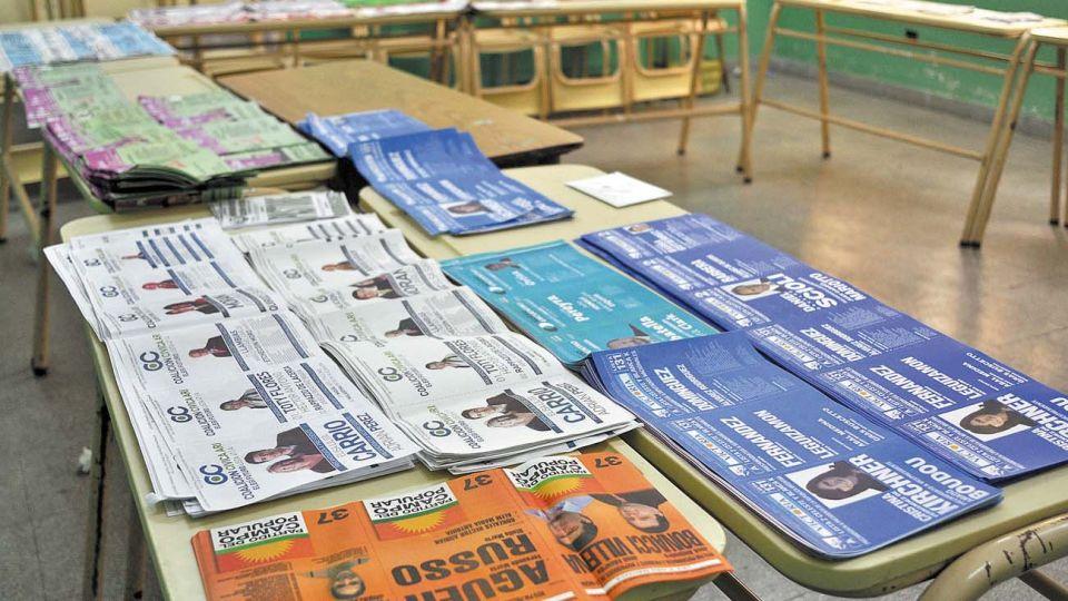 Cuarto oscuro. Las boletas de las PASO, a la elección general.