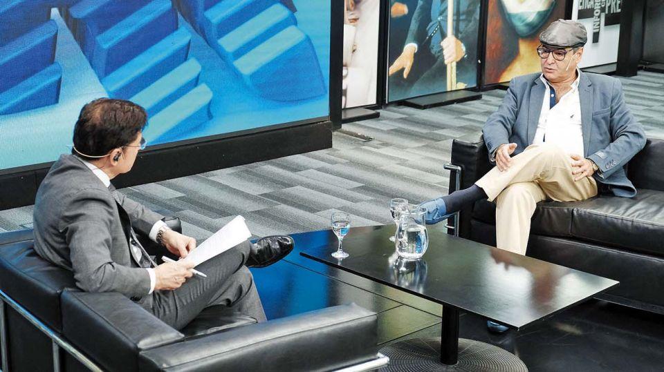 Samuel Cabanchik, en la entrevista con Jorge Fontevecchia.