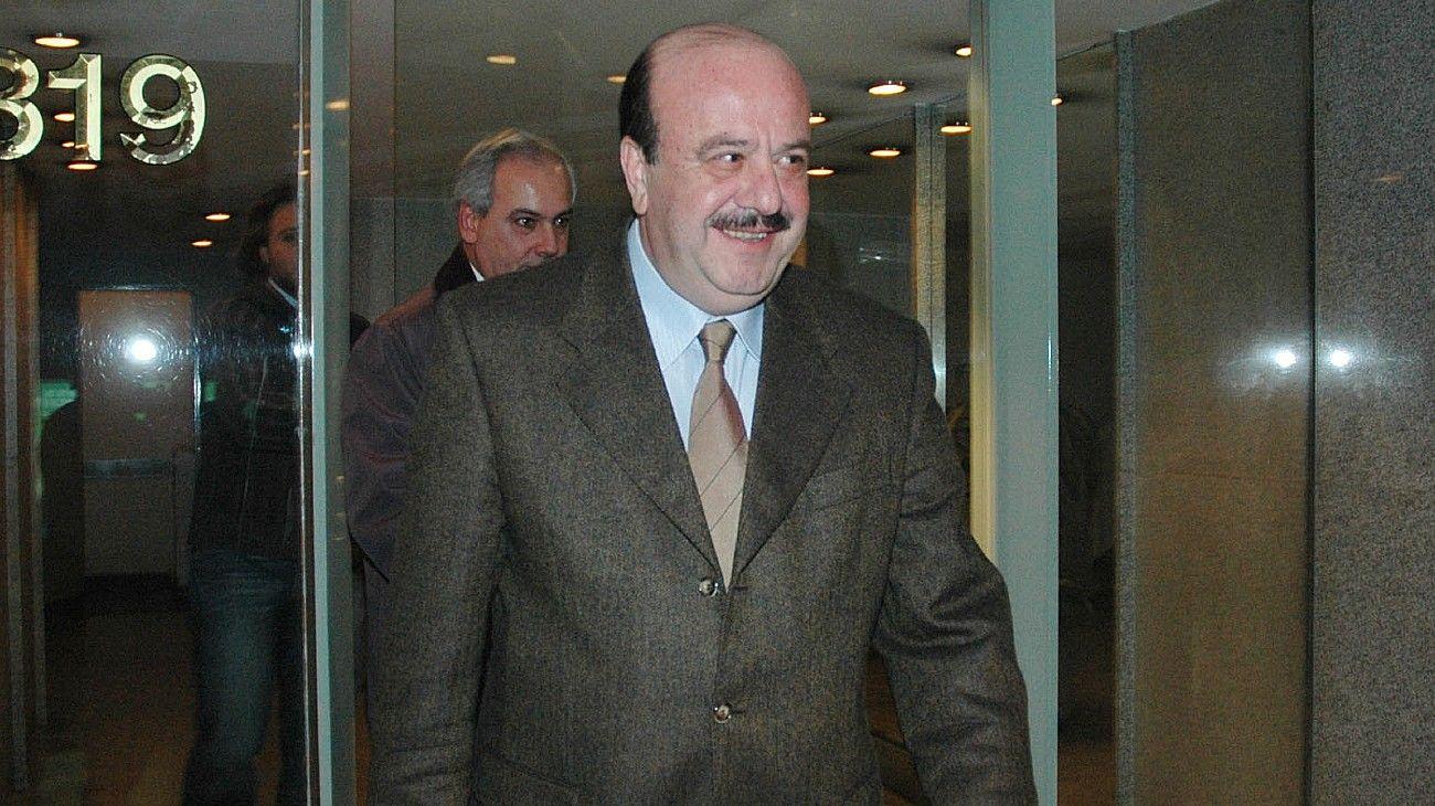 Osvaldo Mércuri, en una foto de archivo. Murió a los 76 años por Covid.