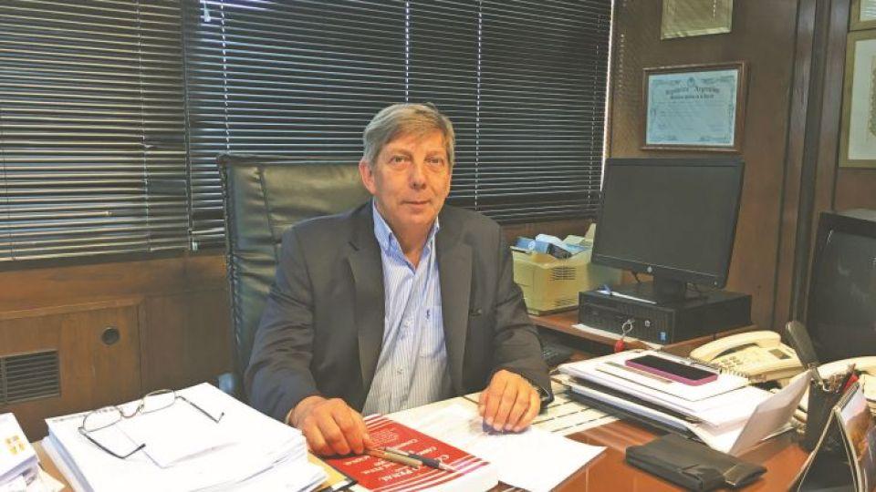 ALBERTO LOZADA. El lunes regresó a su despacho en la Fiscalía General ante la Cámara Federal de Apelaciones, después de ser convocado por la Procuración cuando renunció para jubilarse.